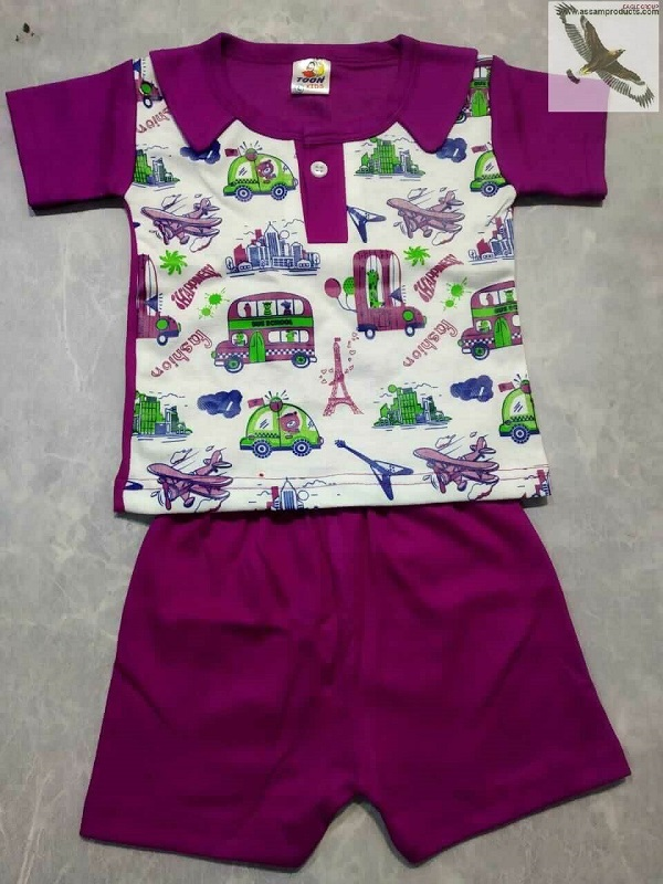 Eagle Tradition Cotton Printed T-shirt with Pant /01200007001