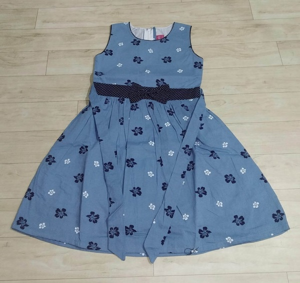 EAGLE TRADITION COTTON PRINTED FROCK FOR 2 TO 6 YEARS